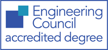 Accredited degree logo
