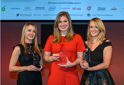2016 Young Woman Engineer winners