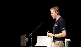 Tim Peake, astronaut and winner of the 2019 Rooke Award
