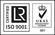 Certified ISO 9001 UKAS Management Systems 001