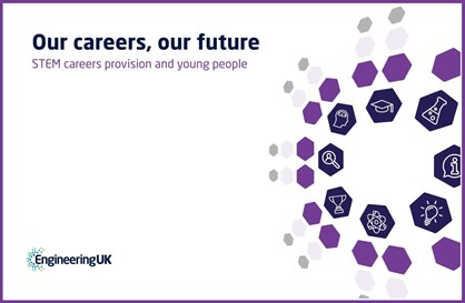 cover of the Engineering UK report 'Our careers, our future'
