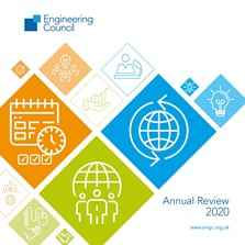 cover of Engineering Council's 2020 Annual Review
